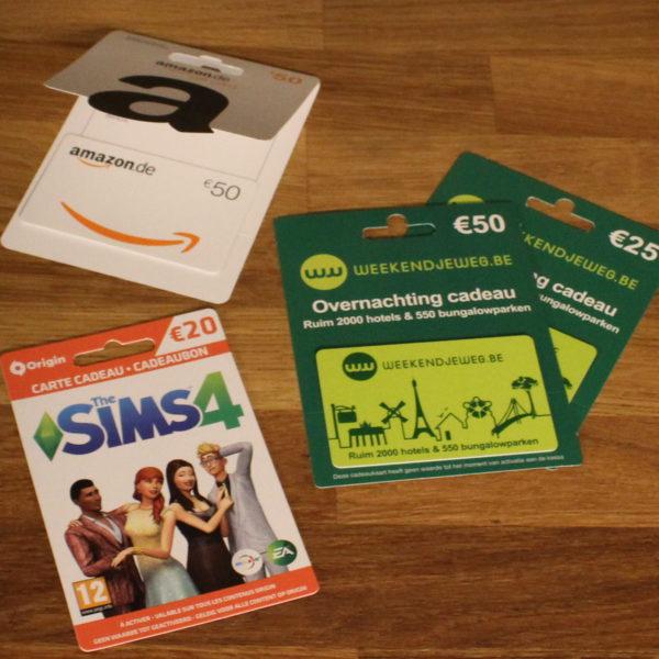 Cadeaukaart SIMS4 Amazon weekendje weg