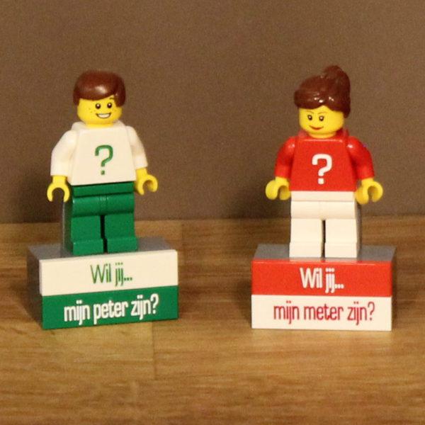 Peter of meter vragen lego mannetjes