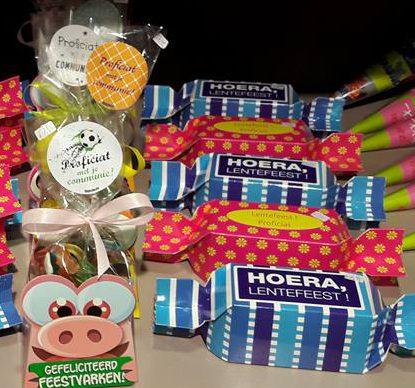 Communie geschenk snoep bonbon snoepiemonster