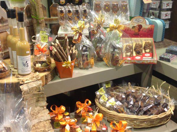 Halloween herfst cadeaupakketten delicatessen chocolade