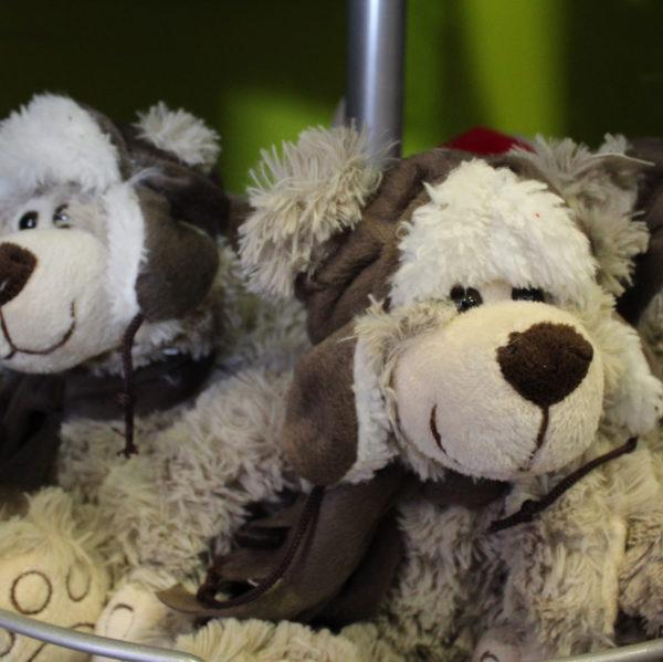 Kinderen geschenk knuffeldieren hond