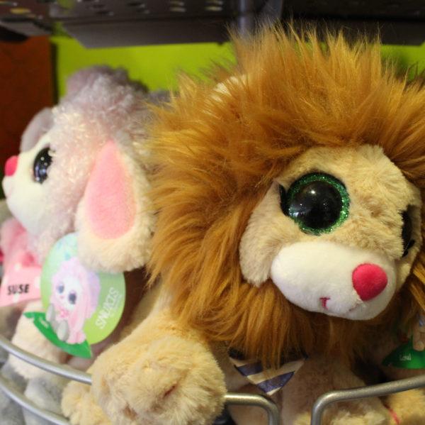Kinderen geschenk knuffeldieren leeuw