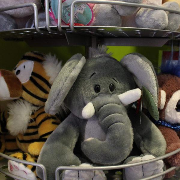 Kinderen geschenk knuffeldieren olifant tijger aap