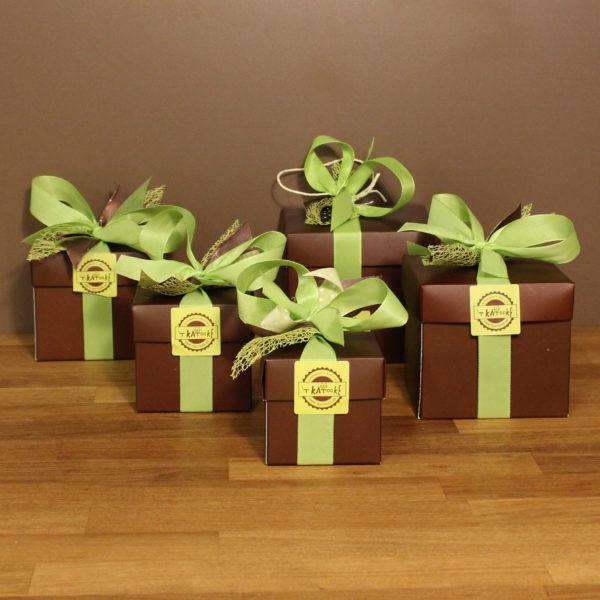 Pralinedoosjes chocolade truffels zeevruchten