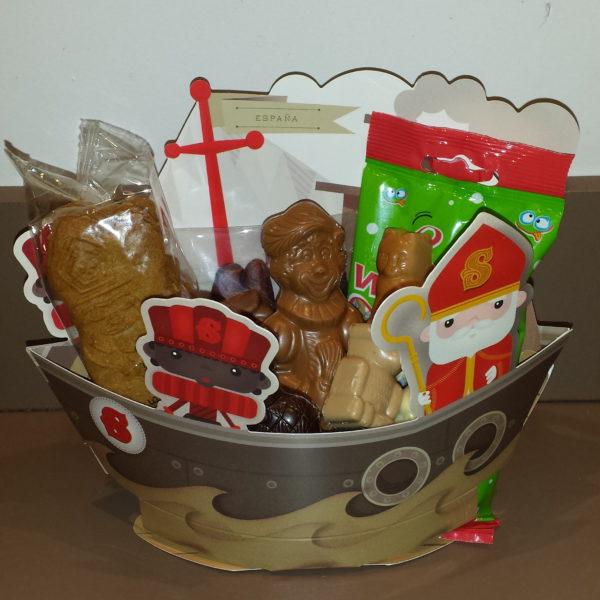 Sinterklaas Sint Maarten stoomboot cadeau pakket