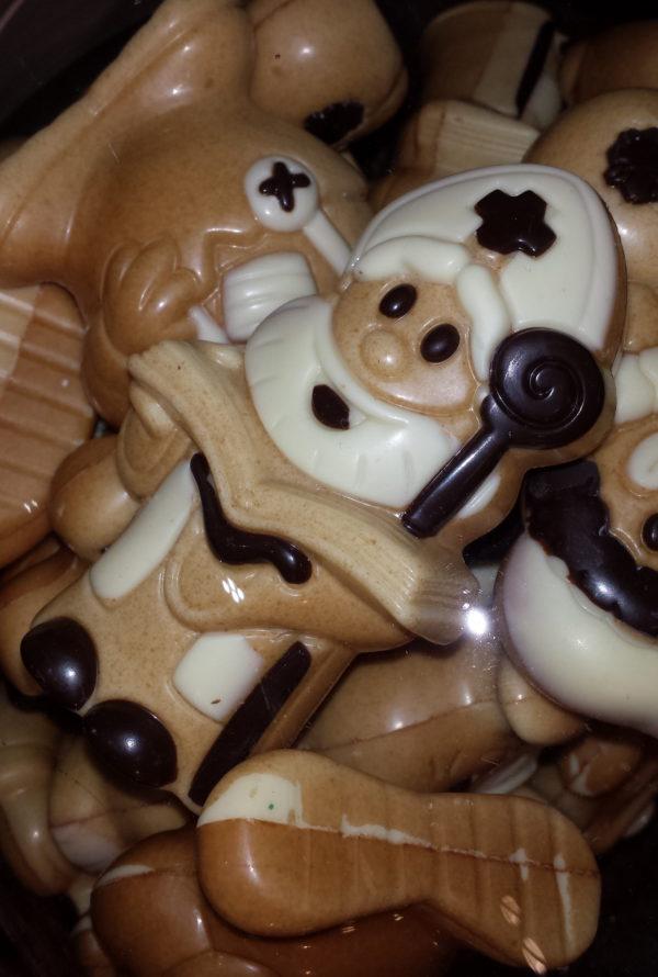 Sinterklaas chocoladen figuur