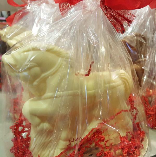Sinterklaas chocoladen paard pakket