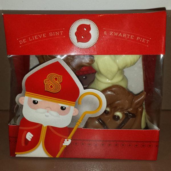 Sinterklaas kijkzakje zoetigheden