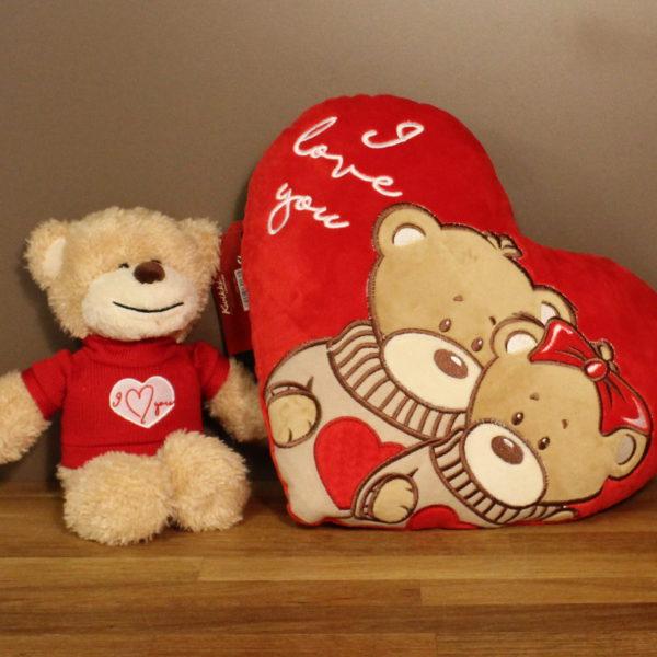 Valentijn geschenk knuffel kussen