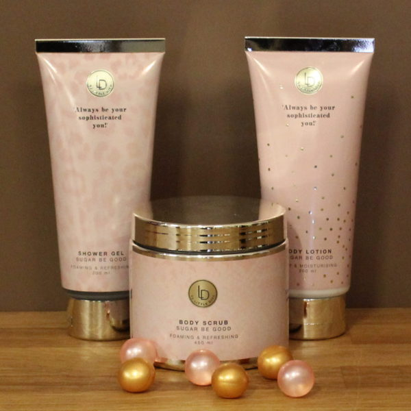 Verzorging producten bodylotion showergel scrub