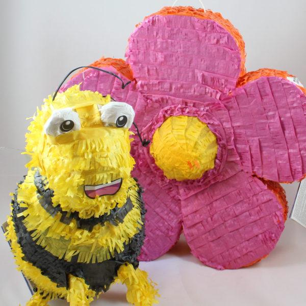 pinata-piñata-bij-bloem-snoep