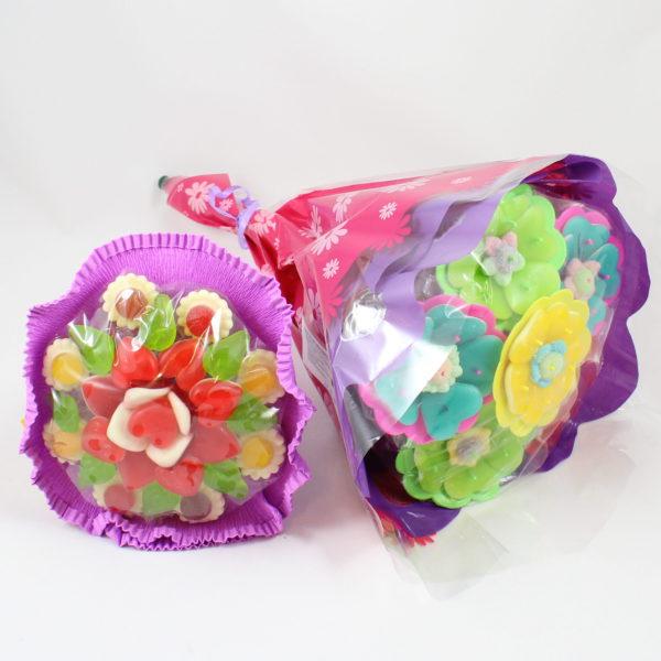 Geschenk-snoep-cadeau-boekket-bloemen-kado