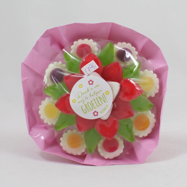snoepboeket-bloemen