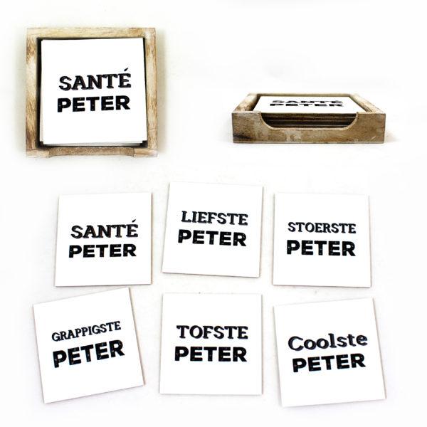 peter – santé peter – onderleggers